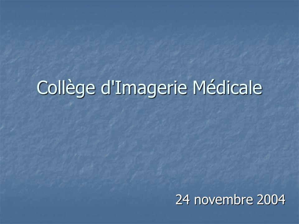 Collège d'Imagerie Médicale 24 novembre 2004