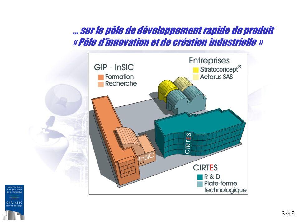 3/48 … sur le pôle de développement rapide de produit « Pôle dinnovation et de création industrielle » … sur le pôle de développement rapide de produi