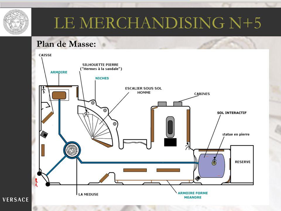 LE MERCHANDISING N+5 Plan de Masse:
