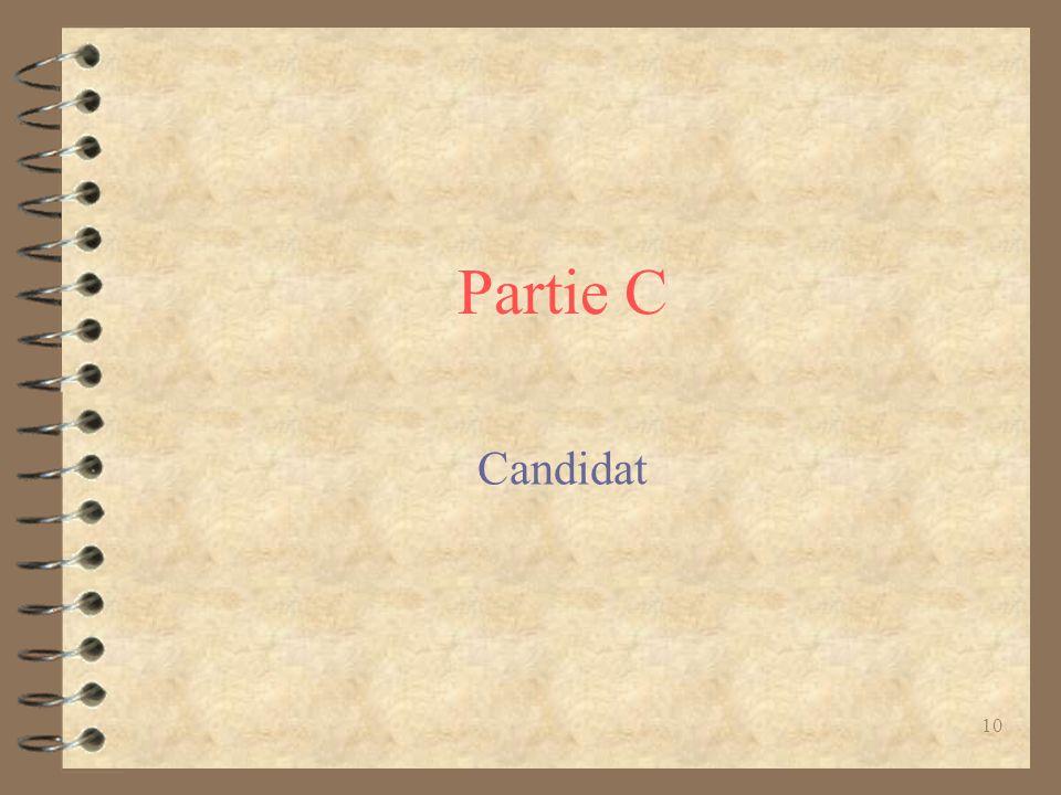 10 Partie C Candidat