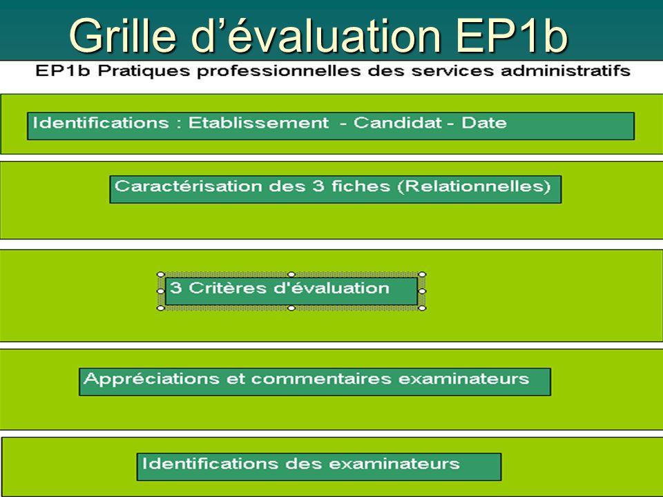 Grille dévaluation EP1b