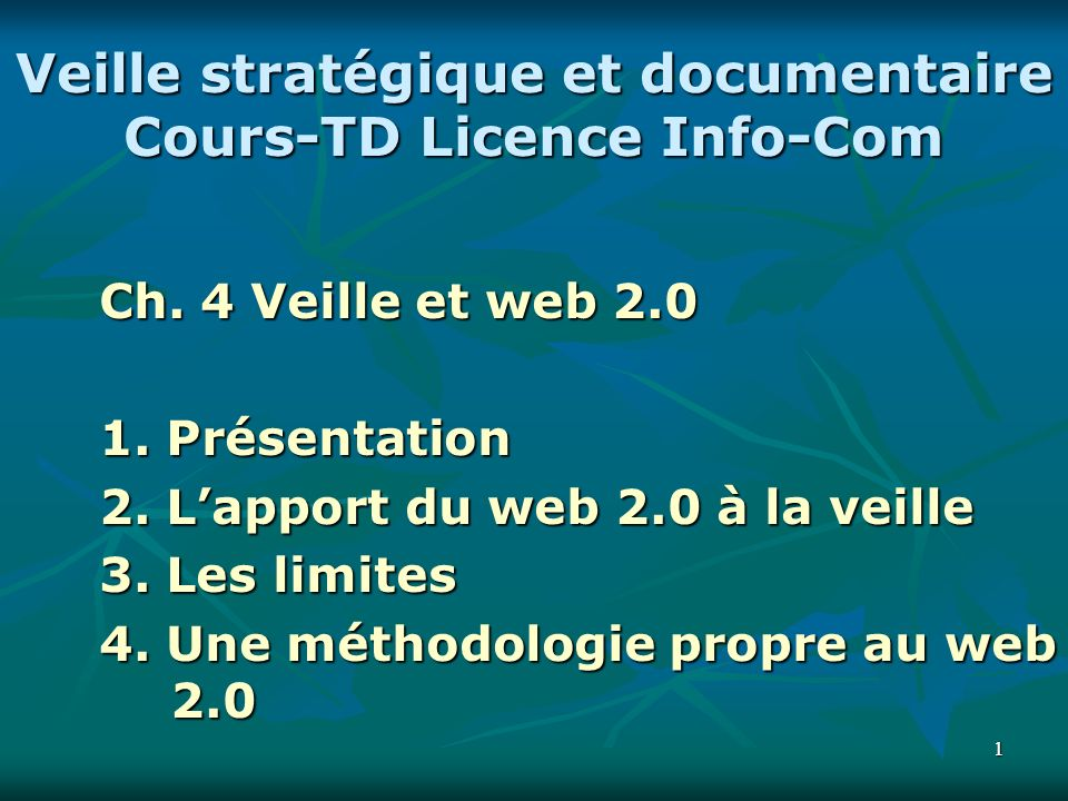 22 « Quest ce que le web 2.0 .