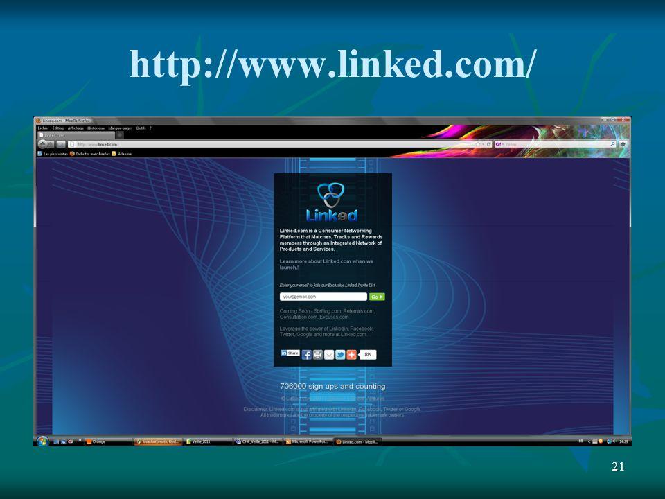 21 http://www.linked.com/