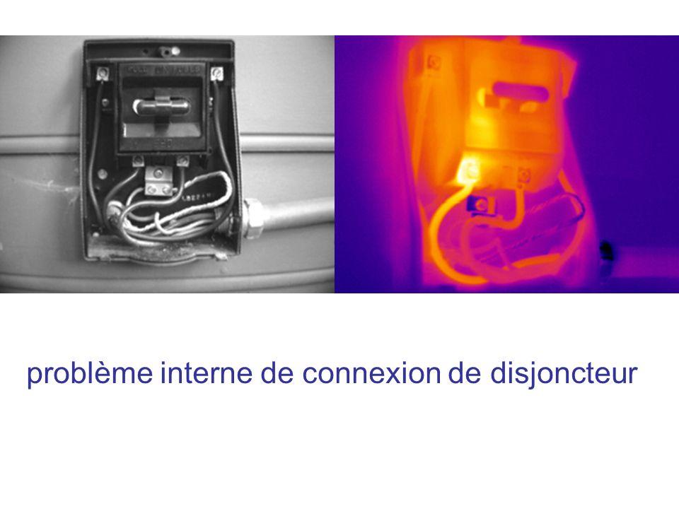 problème interne de connexion de disjoncteur
