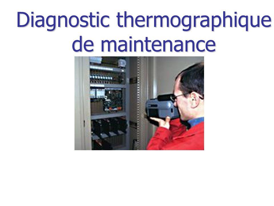 Diagnostic thermographique de maintenance