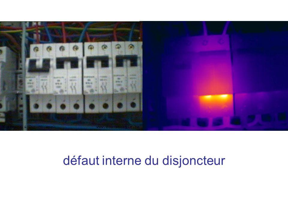 défaut interne du disjoncteur