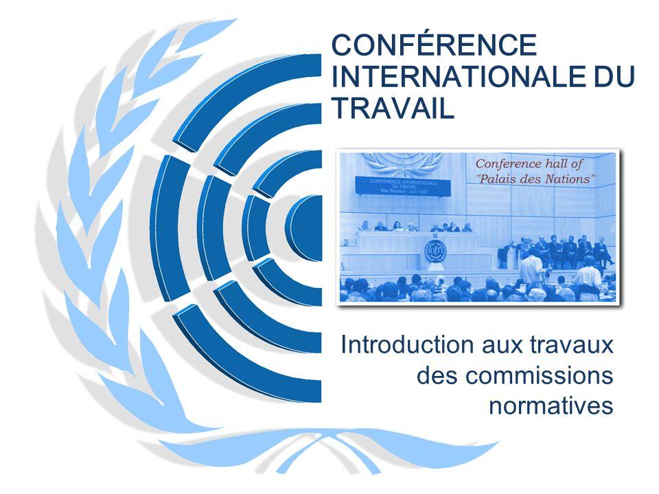 12 COMPOSITION DE LA COMMISSION COMPOSITION 2/6 EMPLOYEURS 50/75 TRAVAILLEURS 50/75 GOUVERNEMENTS 100/125