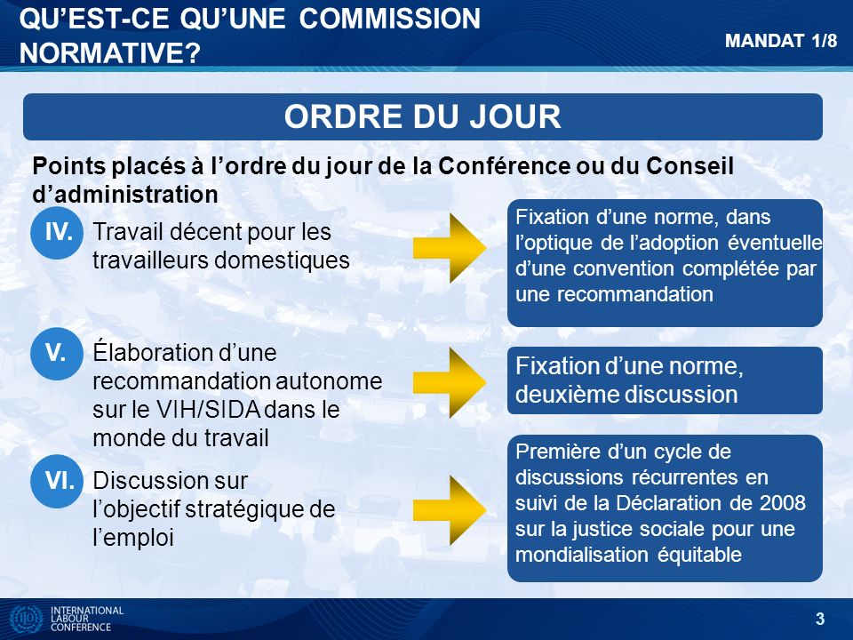 3 QUEST-CE QUUNE COMMISSION NORMATIVE.