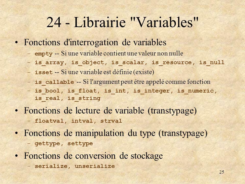 25 24 - Librairie