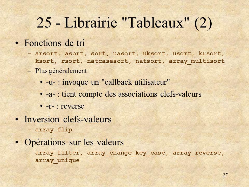 27 25 - Librairie