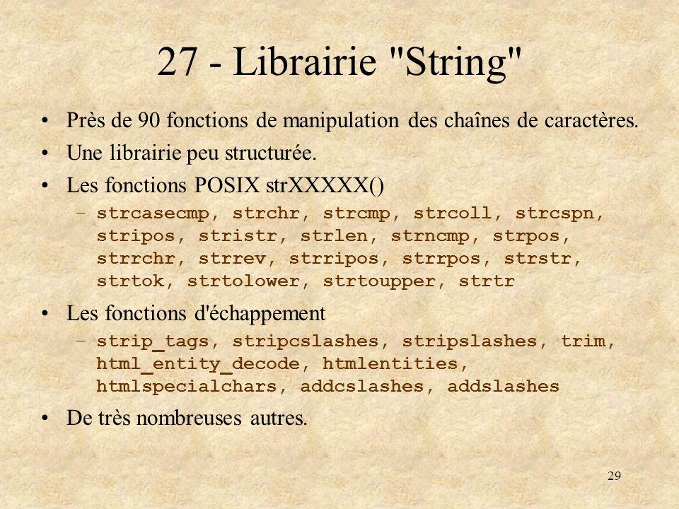 29 27 - Librairie