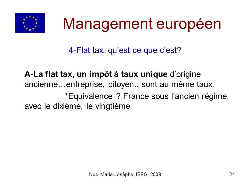 Nuel Marie-Josèphe_ISEG_200824 Management européen 4-Flat tax, quest ce que cest.
