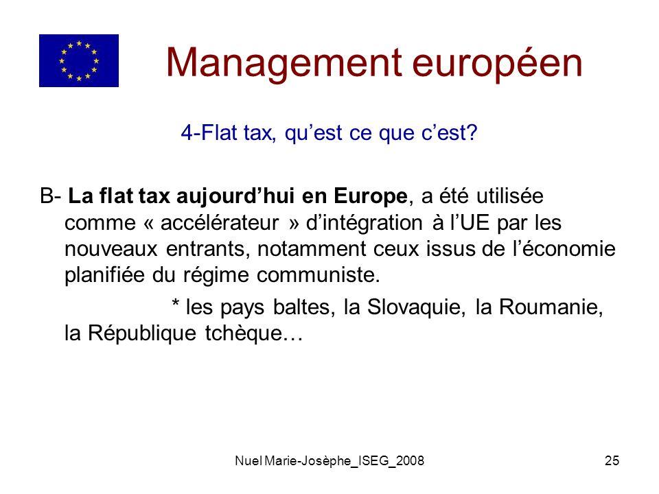 Nuel Marie-Josèphe_ISEG_200825 Management européen 4-Flat tax, quest ce que cest.