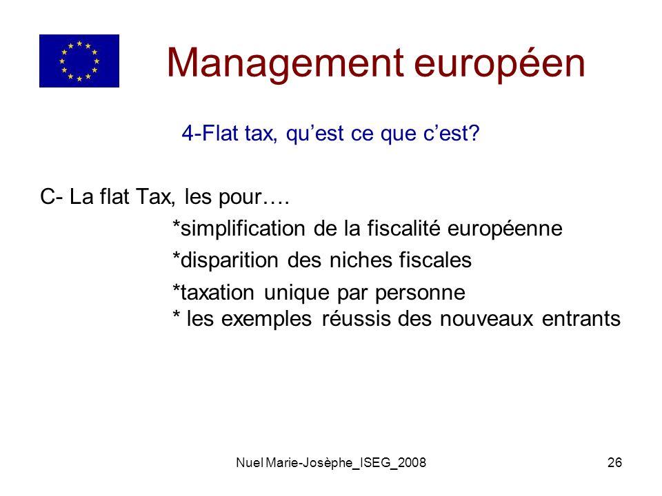 Nuel Marie-Josèphe_ISEG_200826 Management européen 4-Flat tax, quest ce que cest.