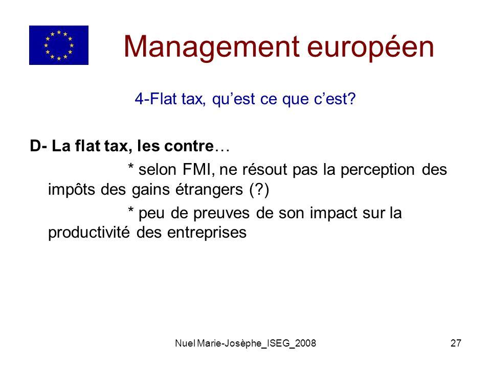 Nuel Marie-Josèphe_ISEG_200827 Management européen 4-Flat tax, quest ce que cest.