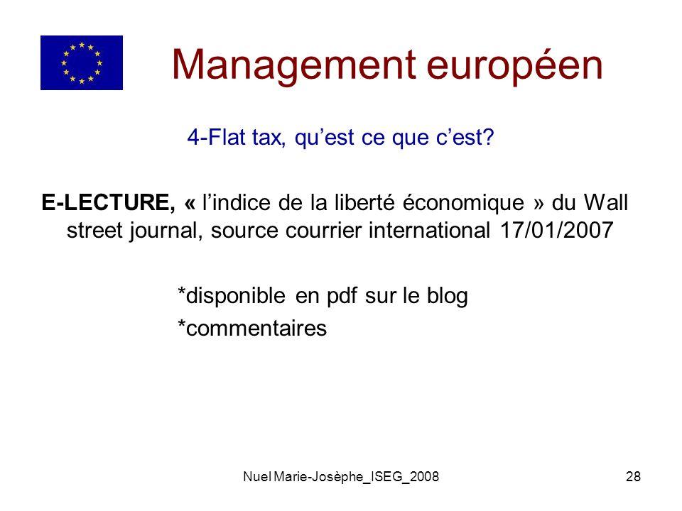 Nuel Marie-Josèphe_ISEG_200828 Management européen 4-Flat tax, quest ce que cest.