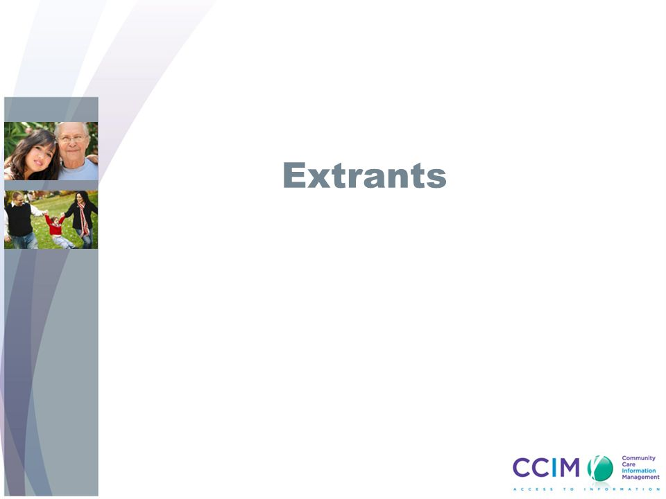 Extrants