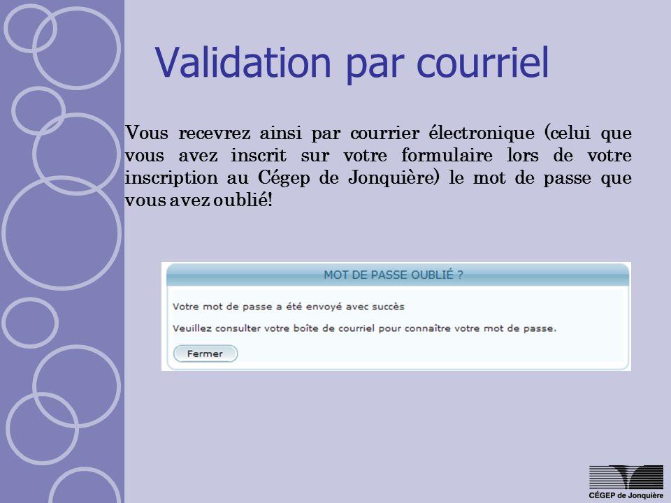 Menu : Options Changer le mot de passe Cliquez sur le lien « Changer le mot de passe » dans la fenêtre des options.