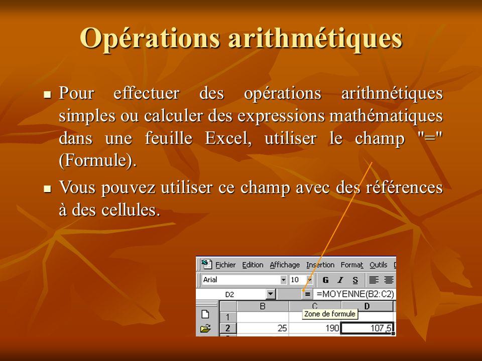 Modèle de classeur Certaines feuilles ou classeurs sont utilisés comme base de calcul avec des données différentes.