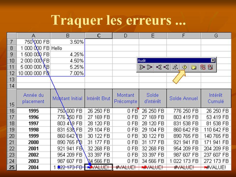 Utilisation de fonctions Excel propose différentes catégories de fonctions pour satisfaire un large panel d utilisateurs.