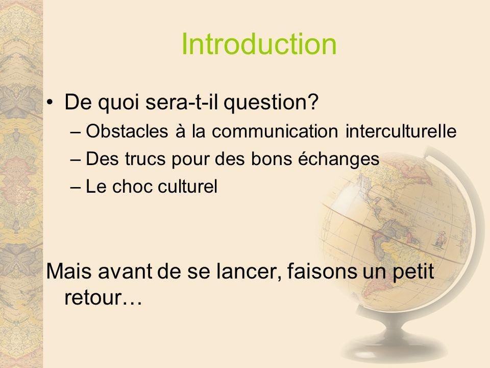 Dialogue Questions Commentaires