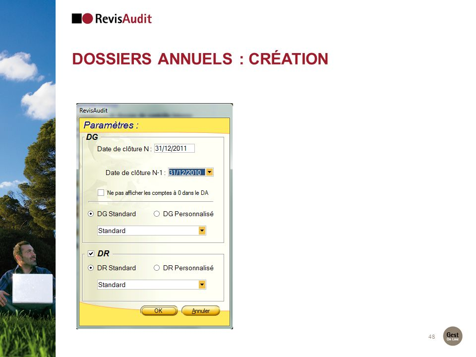 48 DOSSIERS ANNUELS : CRÉATION