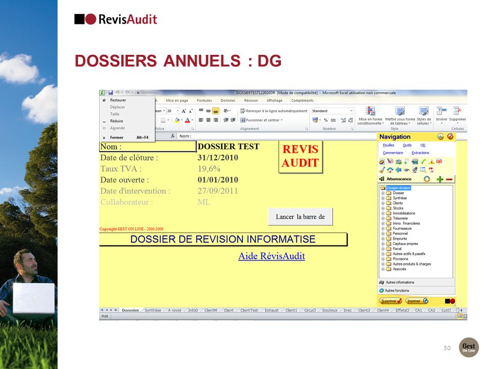 50 DOSSIERS ANNUELS : DG