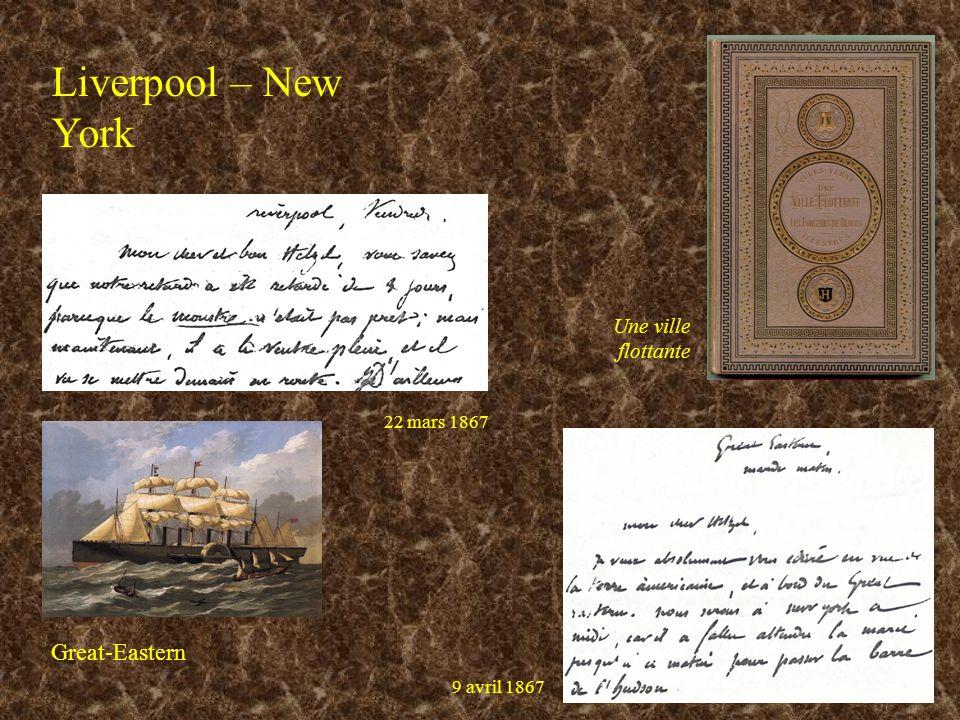 Liverpool – New York Great-Eastern Une ville flottante 22 mars 1867 9 avril 1867