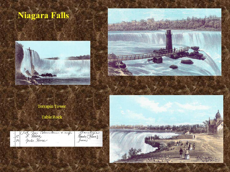 Niagara Falls Terrapin Tower Table Rock