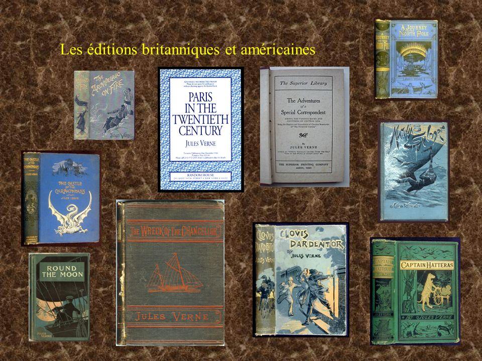 Les éditions britanniques et américaines