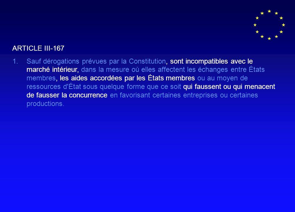 ARTICLE III-167 1.