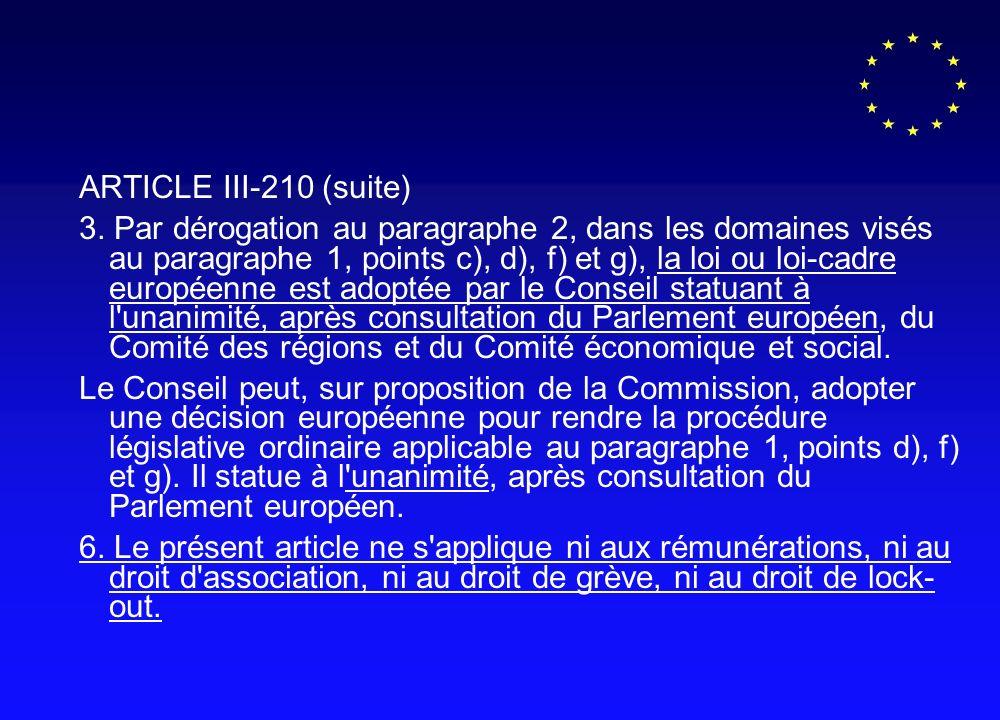 ARTICLE III-210 (suite) 3.