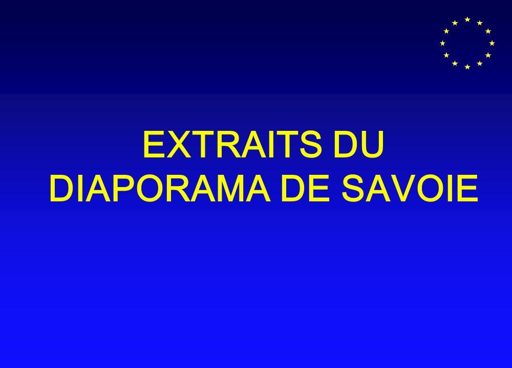EXTRAITS DU DIAPORAMA DE SAVOIE