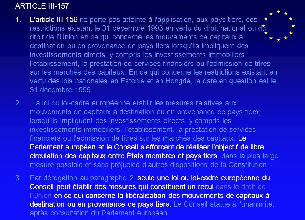 ARTICLE III-157 1.
