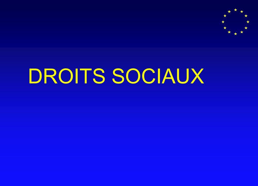 DROITS SOCIAUX