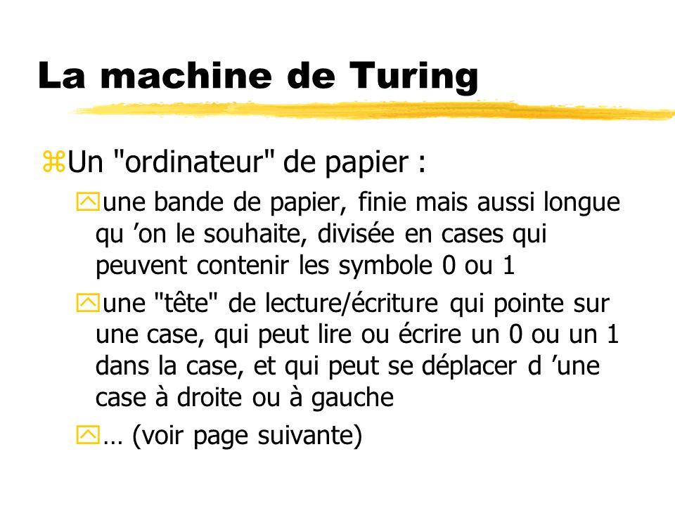 La machine de Turing zUn
