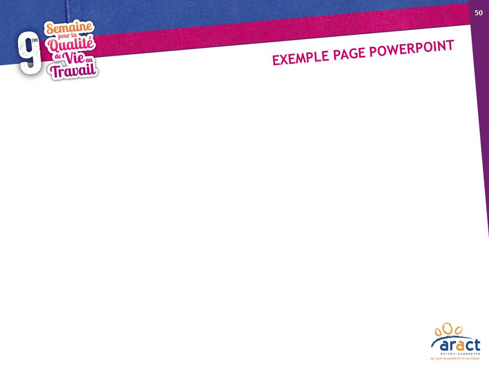 EXEMPLE PAGE POWERPOINT 50