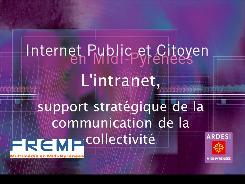 12 2ème Partie LIntranet, outil de communication de la collectivité