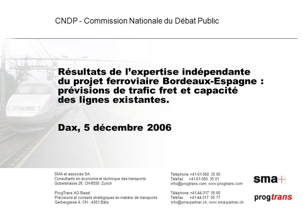 CNDP - Expertise LGV Bordeaux-Espagne | 1-00 | 05.12.06 | gm, omr, ec 2 Plan de la présentation 1.Rappel des objectifs de lexpertise ANALYSE DES PREVISIONS DE TRAFIC FRET DE RFF 2.