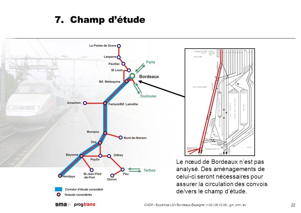 CNDP - Expertise LGV Bordeaux-Espagne | 1-00 | 05.12.06 | gm, omr, ec 23 7.