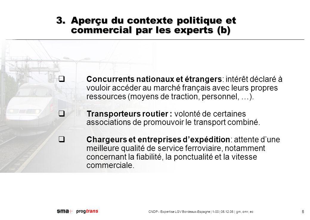 CNDP - Expertise LGV Bordeaux-Espagne | 1-00 | 05.12.06 | gm, omr, ec 9 4.