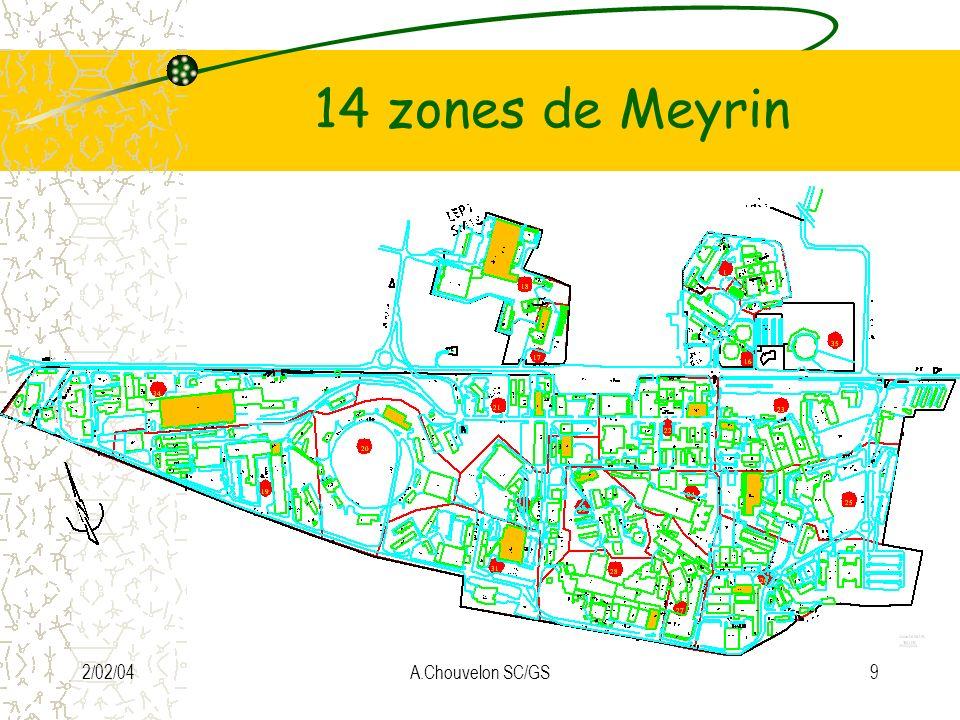 2/02/04A.Chouvelon SC/GS9 14 zones de Meyrin
