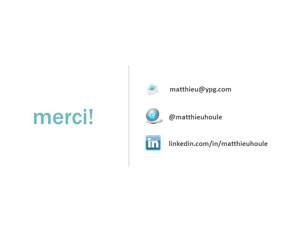matthieu@ypg.com @matthieuhoule linkedin.com/in/matthieuhoule merci!