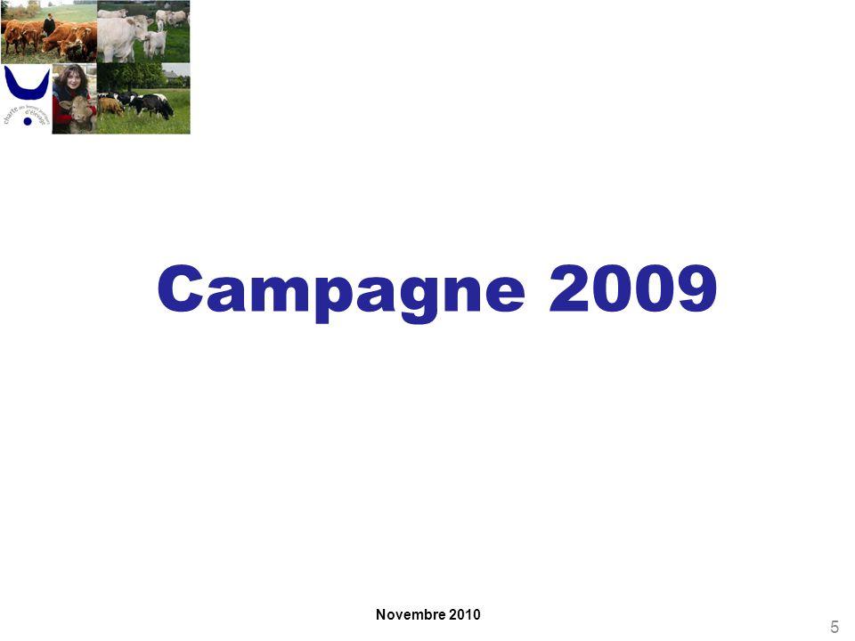 Novembre 2010 Campagne 2009 5