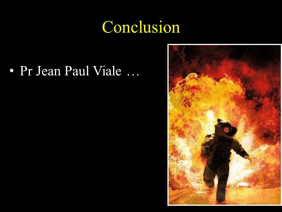 Conclusion Pr Jean Paul Viale …