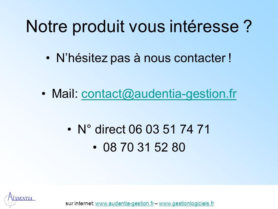 http://www.accompagnement-info.com/ Notre produit vous intéresse ? Nhésitez pas à nous contacter ! Mail: contact@audentia-gestion.frcontact@audentia-g