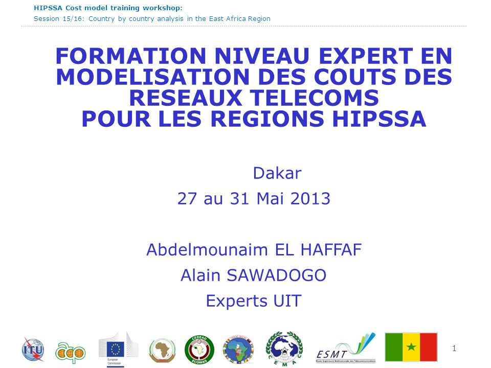 HIPSSA Cost model training workshop: Session 15/16: Country by country analysis in the East Africa Region Burundi - Résumé 12
