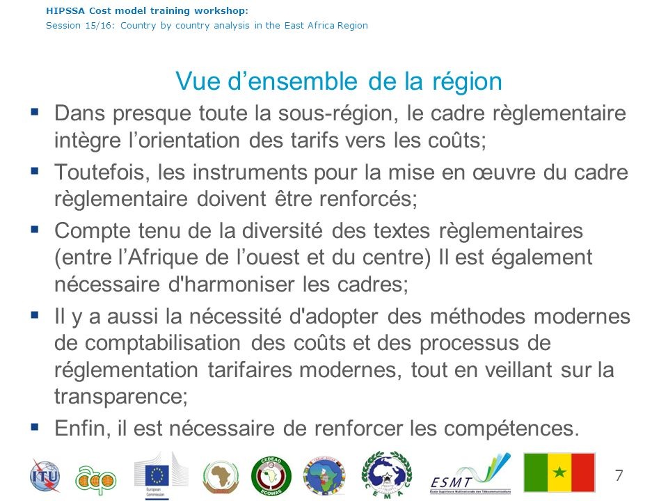 HIPSSA Cost model training workshop: Session 15/16: Country by country analysis in the East Africa Region Guinée - Résumé 28