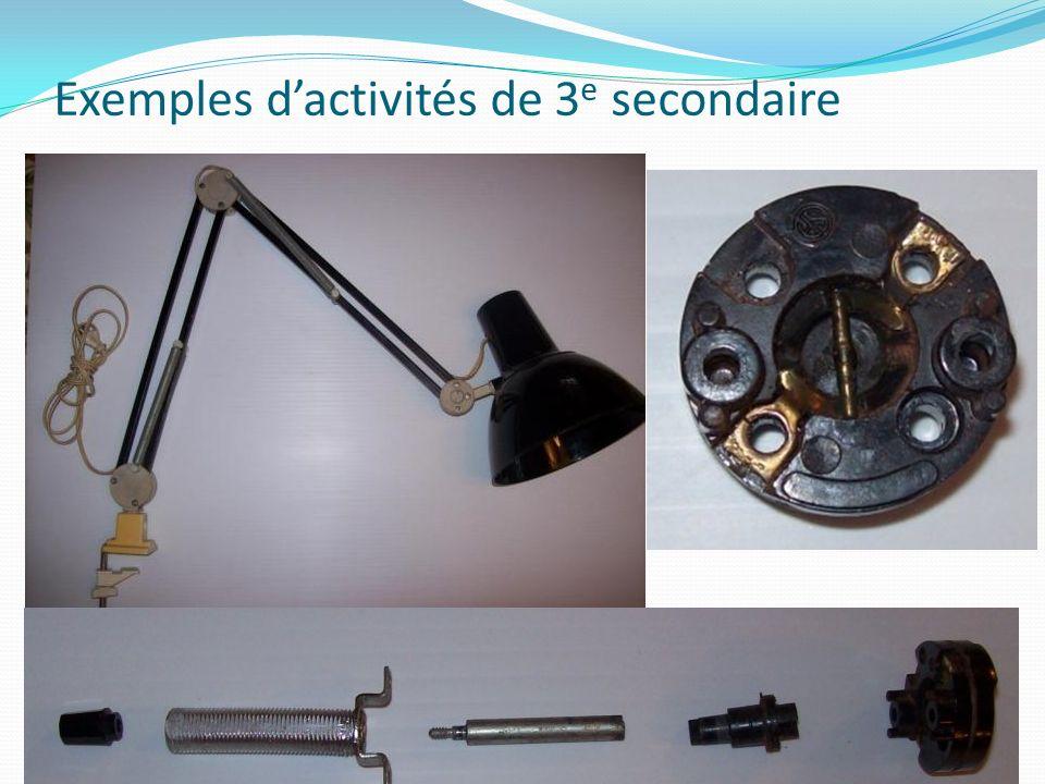 Exemples dactivités de 3 e secondaire
