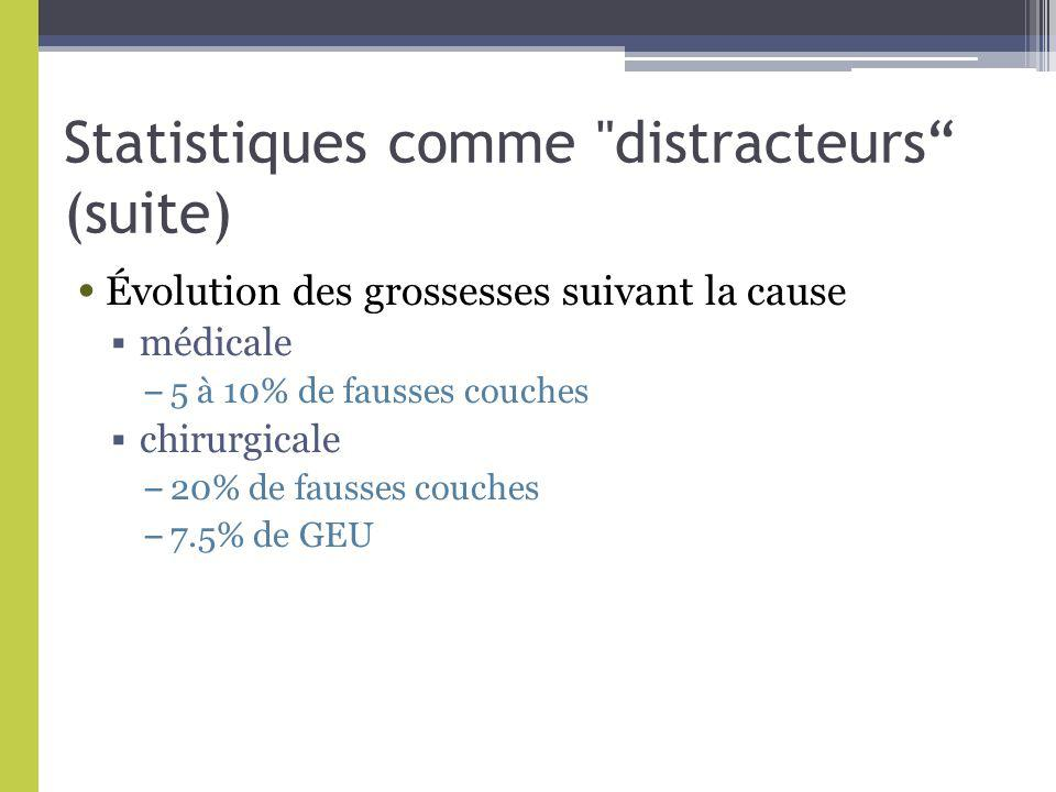 Statistiques comme